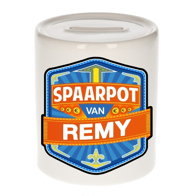 Vrolijke Remy spaarpotten voor kinderen