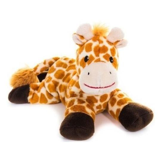 Warme knuffel kruik giraf 18 cm