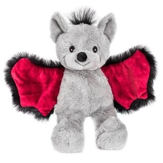 Warme knuffel kruik vleermuis 18 cm