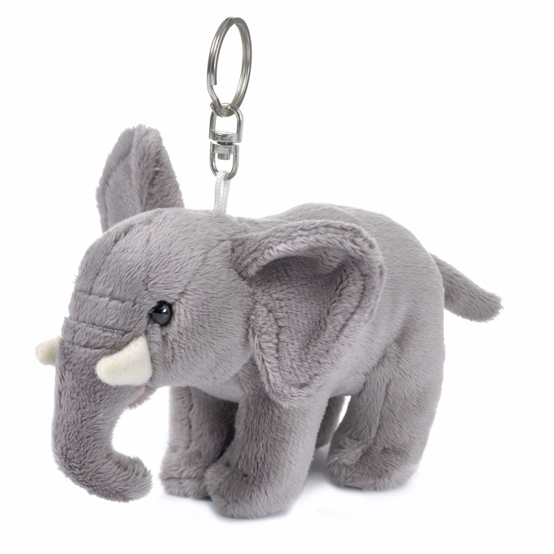 WNF pluche olifantjes 10 cm lang